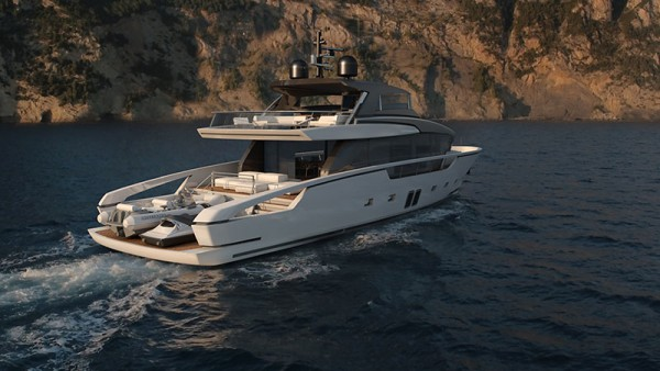 Image for article Sanlorenzo unveils new composite crossover