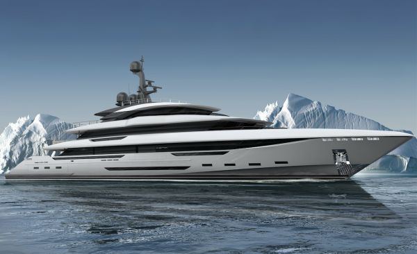 Image for article Rossinavi sells 70m superyacht 'King Shark'