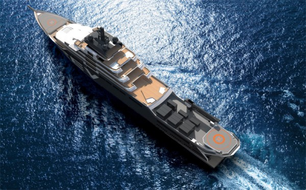 Image for article Superyacht owner to build mega-expedition vessel