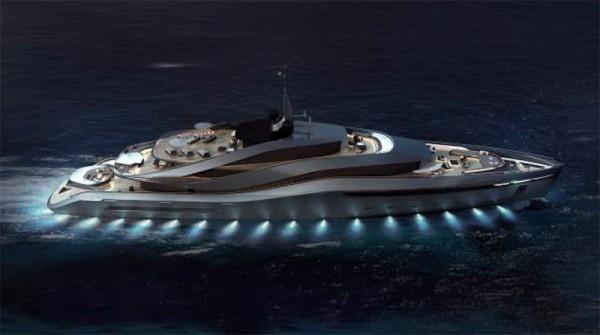 Image for article Rossinavi presents the Aurea concept by Pininfarina