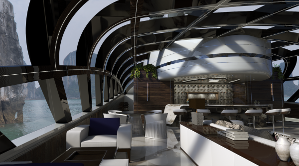 Image for article Oceanco unveils 90m superyacht concept Cosmos