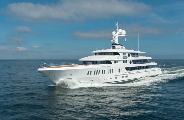 Image for article Lürssen delivers 74m 'Aurora'