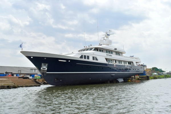 Image for article Balk launches superyacht 'Explora'