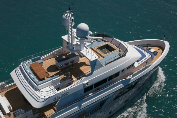 Image for article Cantiere delle Marche delivers 31m M/Y 'Galego'
