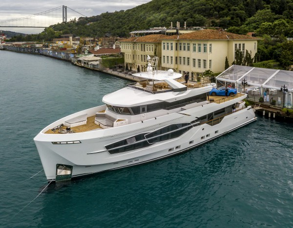 Image for article Numarine launches first explorer superyacht