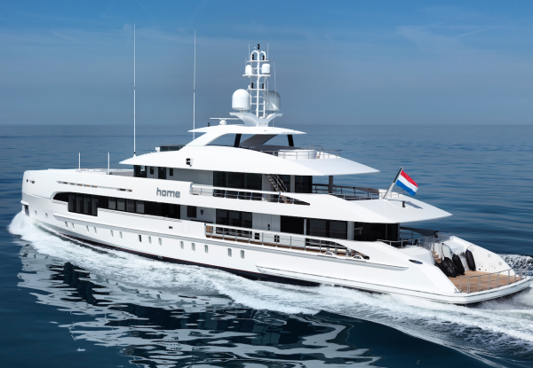 Image for article Heesen delivers 50m M/Y 'Home'