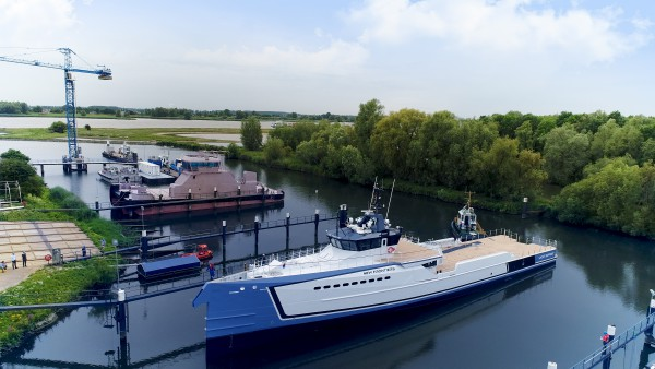 Image for article Damen launches 55m 'New Frontiers'