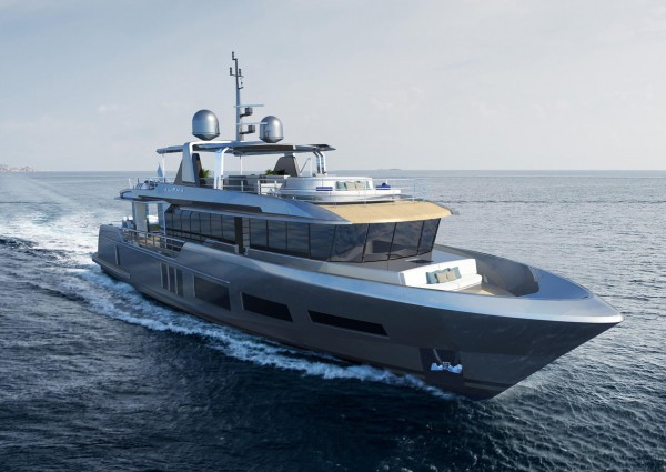 Image for article ICT Yachts launches  32.3m M/Y 'Andreika'