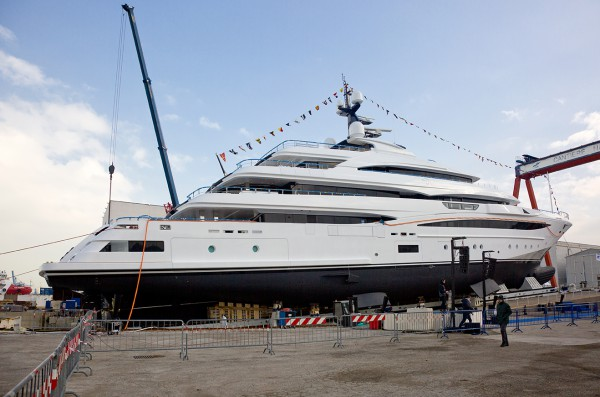 Image for article CRN launches 74m superyacht 'Cloud 9'