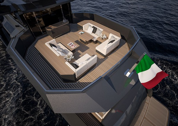 Image for article Arcadia Yachts sells first new A100+ model
