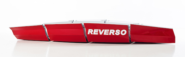 Image for article Reverso's compact sailing dinghy
