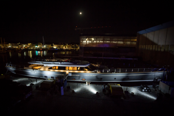 Image for article Perini Navi launches S/Y 'Seven'
