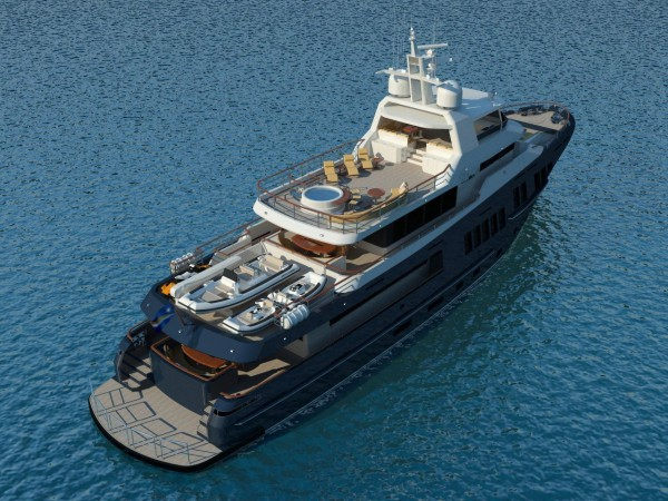 Image for article Bering Yachts unveils new 40m superyacht