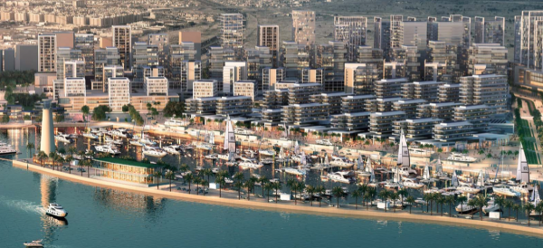 Image for article DP World begins large marina project in Dubai