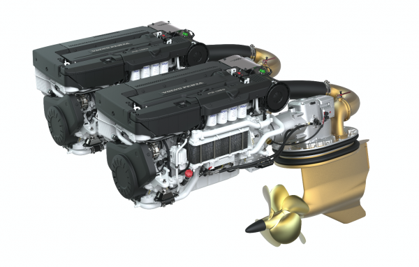 Image for article Volvo Penta enters the big boat market