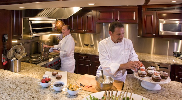 Image for article Is galley design limiting superyacht chefs?