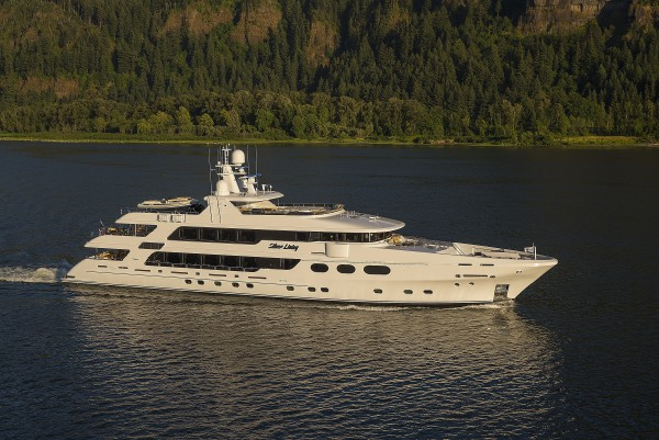 Image for article 50m Christensen 'Silver Lining' listed for sale