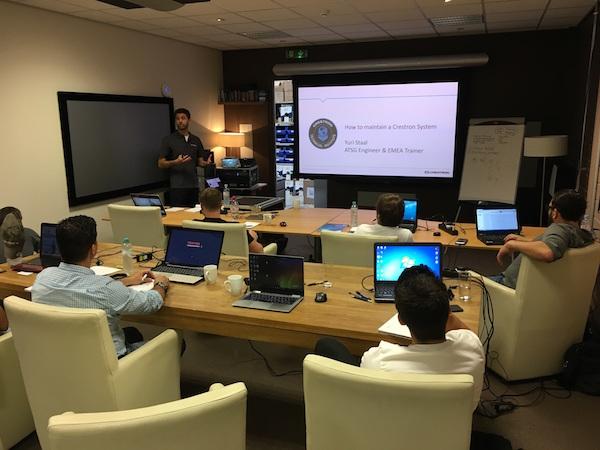 Image for article AV systems training for crew