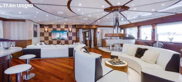 Image for article Top yachts on display at this year's Monaco Yacht Show