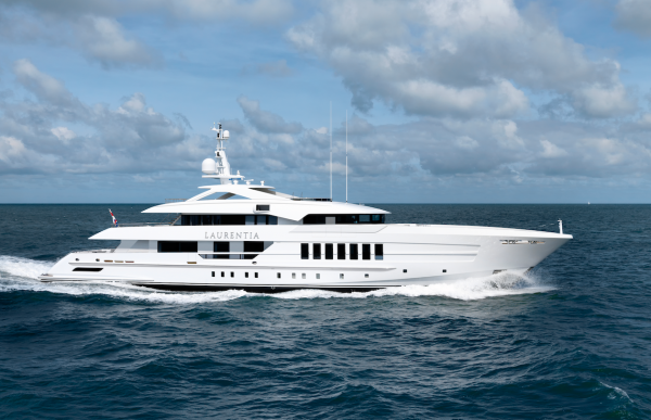 Image for article Heesen Yachts delivers 55m 'Laurentia'