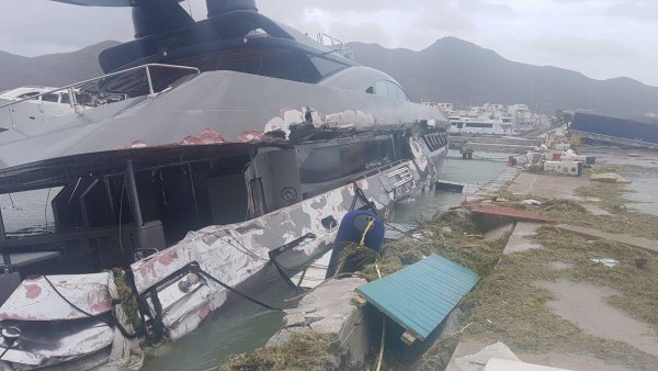 Image for article Hurricane Irma decimates superyacht hotspots