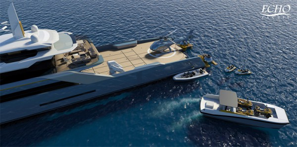 Image for article 'Adventure Support Yacht' by Echo Yachts