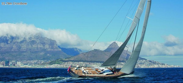Image for article Sailing yachts at Monaco Yacht Show