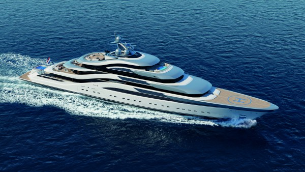 Image for article Amels unveils new 111m concept by H2 Yacht Design