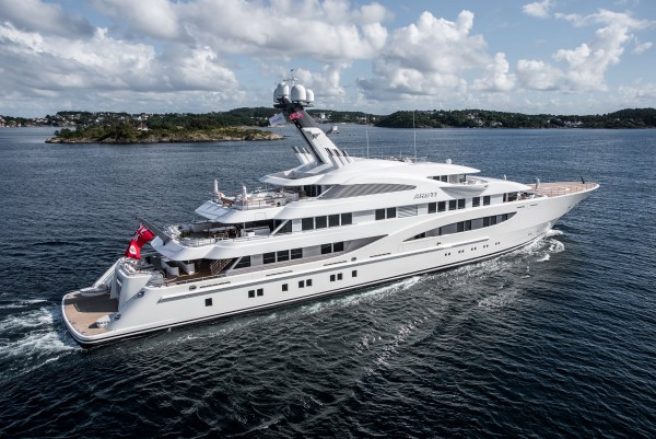 Image for article Lurssen's 85m 'Areti' at MYS