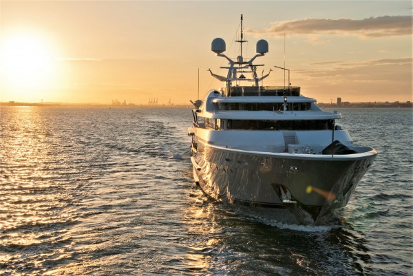 Image for article Burgess Marine completes refit of 'Lady A'
