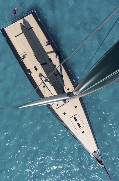 Image for article Learning to Tango – sailing the new Wallycento at MYS