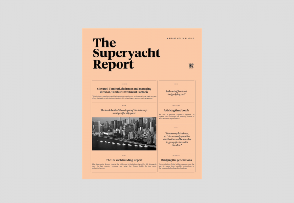 Image for article Out now: Issue 182 of The Superyacht Report