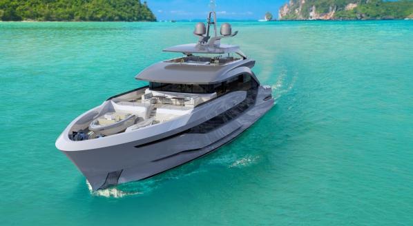 SuperyachtNews com - Fleet - C N T launches 'Andromeda'