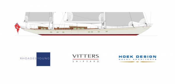 Image for article Vitters signs 50m classic performance ketch