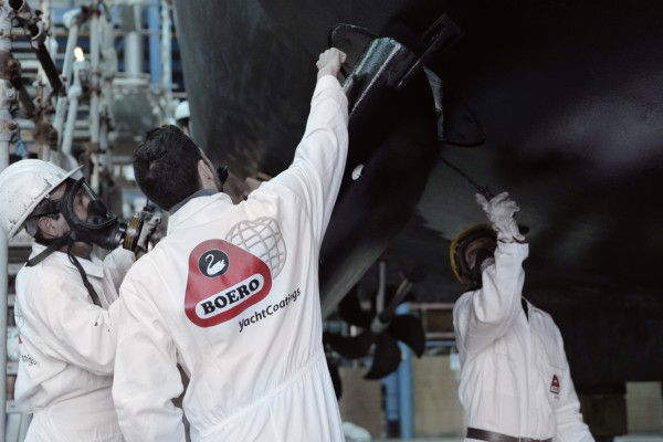 Image for article Get your coat – what's what with superyacht paint?
