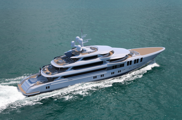Image for article Turquoise reveals details of new 74m superyacht