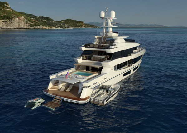 Image for article Gregory Marshall unveils 42m explorer superyacht