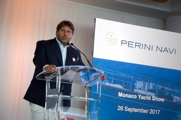 Image for article Perini Navi announces order for 56m motoryacht