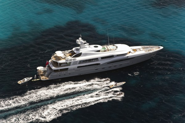 Image for article Scarce Amels re-sale market welcomes M/Y 'Infinite Shades'