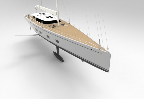 Image for article Baltic 142 features Dynamic Stability System