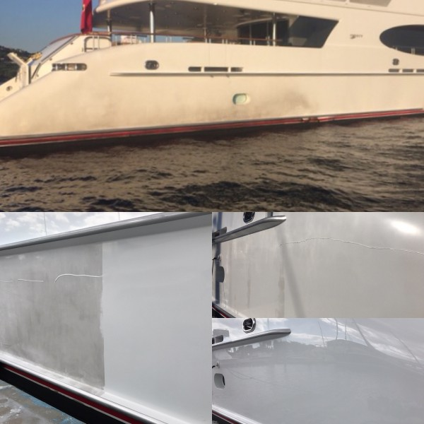 Image for article Prolong the life of your superyacht paint