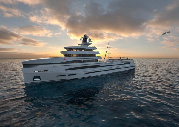 Image for article 85m expedition concept by Rosetti Superyachts
