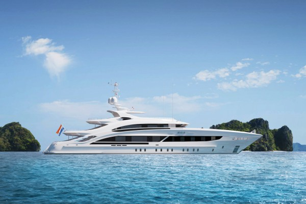 Image for article Heesen announces sale of 50m Project Maia