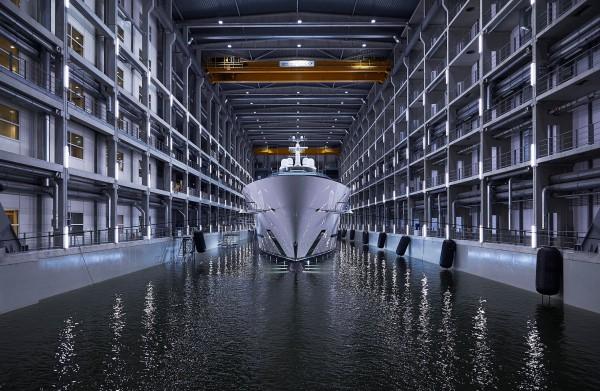 Image for article Oceanco launches largest Dutch superyacht to date