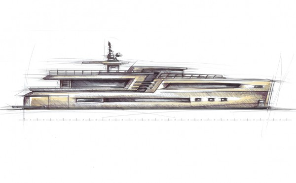 Image for article Couach 38m concept: a yacht without borders