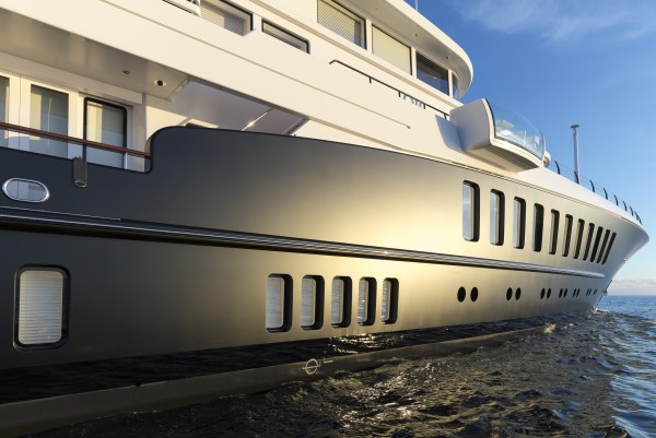 Image for article M/Y 'Air' relaunched from Monaco Marine La Ciotat