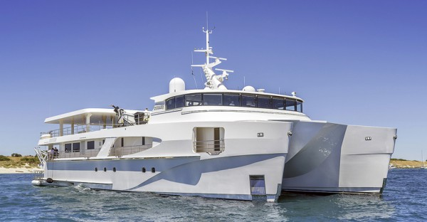 Image for article Echo Yachts delivers 46m shadow vessel 'Charley'