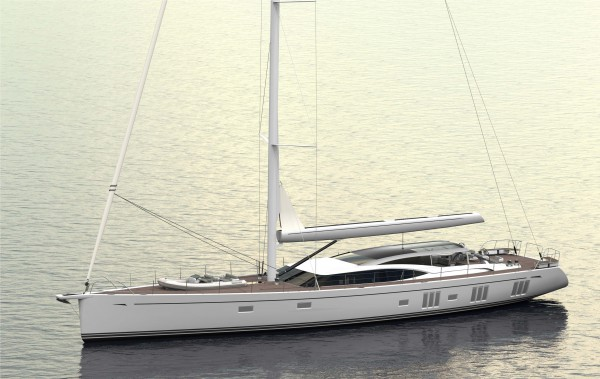 Image for article Oyster Yachts secures contract for second 118 sailing yacht