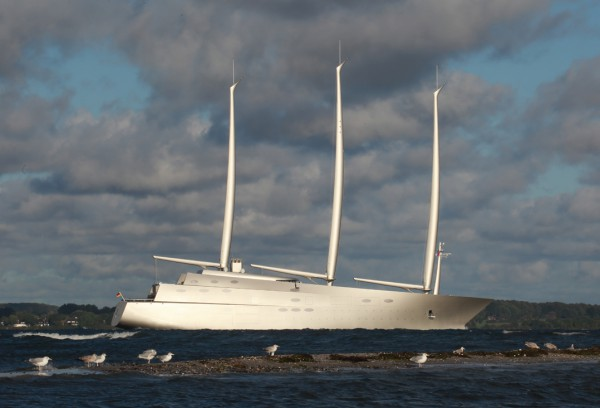 "Image for article Sailing Yacht ""A"" detained in Gibraltar"