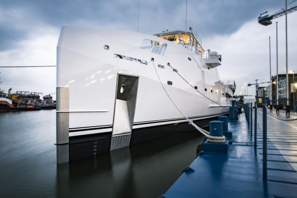 Image for article  Damen launches new 70m support vessel
